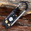 TRUEUTILITY Outdoor Pocket Tool Stainless Steel Keychain
