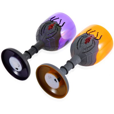 Creative Halloween Spider LED Cup