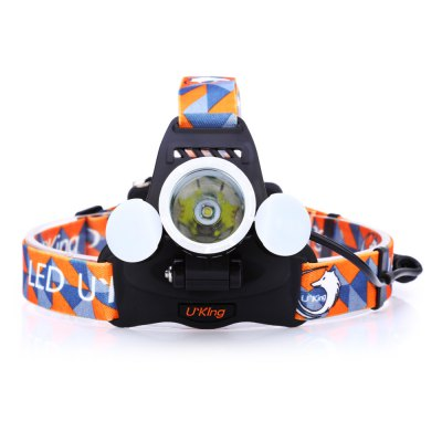 UKing ZQ - X851 LED Headlamp SetHeadlights<br>UKing ZQ - X851 LED Headlamp Set<br><br>Headlight brand: UKing<br>Model: ZQ-X851<br>Function: Camping,EDC,Exploring,Hiking,Household Use,Night Riding,Walking<br>Feature: Angle adjustment,Can be used as headlamp or bicycle light,Power indicator light<br>Luminous Flux: 2600LM<br>Color Temperature: 6500-7000K<br>Main Lamp Beads: Cree XM-L T6,Other<br>Beads Number: 7<br>Mode: 4 (Main Light; Side Light; Main Light + Side Light; SOS)<br>Battery Type: 18650<br>Battery Quantity: 2 (included)<br>Power Source: Battery<br>Working Voltage: 3.7V<br>Reflector: Aluminum Smooth Reflector<br>Beam Distance: &gt;500m<br>Working Time: Max 4h<br>Waterproof: IPX-4<br>Mode Memory: Yes<br>Rechargeable: Yes<br>Available Light Color: Cool White<br>Color: Black<br>Body Material: Aluminium Alloy<br>Product weight: 0.176 kg<br>Package weight: 0.385 kg<br>Product size (L x W x H): 8.00 x 5.50 x 3.50 cm / 3.15 x 2.17 x 1.38 inches<br>Package size (L x W x H): 11.50 x 11.00 x 10.00 cm / 4.53 x 4.33 x 3.94 inches<br>Package Contents: 1 x LED Headlamp, 1 x Headband, 2 x 4200mAh 18650 Battery, 1 x 100 - 250V EU Plug AC Charger, 1 x Car Charger, 1 x English Manual