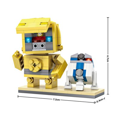 LOZ ABS 211pcs Robot Building Block