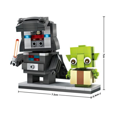 LOZ ABS Movie Character Building Block - 245pcs