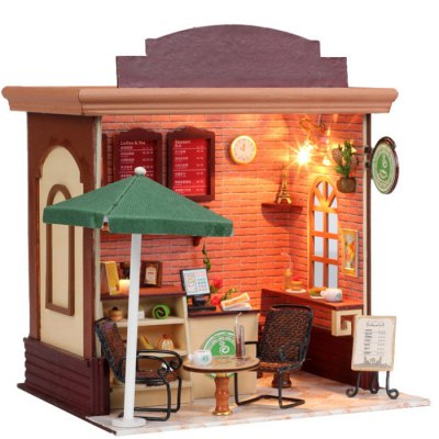 LOZ Street View Architecture ABS Cartoon Building BlockOther Educational Toys<br>LOZ Street View Architecture ABS Cartoon Building Block<br><br>Brand: LOZ<br>Completeness: Semi-finished Product<br>Gender: Unisex<br>Materials: ABS, Other<br>Package Contents: 1 x House Model<br>Package size: 26.00 x 21.00 x 8.00 cm / 10.24 x 8.27 x 3.15 inches<br>Package weight: 1.0000 kg<br>Product size: 19.00 x 16.50 x 19.00 cm / 7.48 x 6.5 x 7.48 inches<br>Product weight: 0.9000 kg<br>Stem From: Europe and America<br>Theme: Buildings,Other