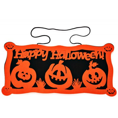 Creative Cartoon Halloween Doorplate Home Decoration