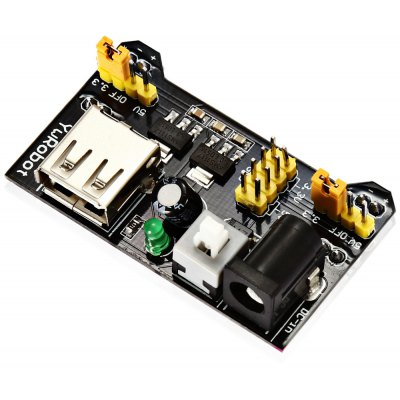 TB - 00013 830 Hole Breadboard + Power Supply Module + 65 Jump Wires