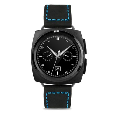 A11 Bluetooth 4.0 Heart Rate Monitor Smart WatchSmart Watches<br>A11 Bluetooth 4.0 Heart Rate Monitor Smart Watch<br><br>Alert type: Ring, Vibration<br>Available Color: Black,Rose Gold,Silver<br>Band material: Leather<br>Band size: 26.2 x 2.2 cm / 10.31 x 0.87 inches<br>Battery  Capacity: 220mAh<br>Bluetooth calling: Call log sync,Dialing,Phonebook<br>Bluetooth Version: Bluetooth 4.0<br>Built-in chip type: MTK2502<br>Case material: Alloy<br>Charging Time: About 2hours<br>Compatability: Android 4.3 / iOS 7.0 and above systems<br>Compatible OS: Android, IOS<br>Dial size: 4.3 x 4.3 x 1.3 cm / 1.69 x 1.69 x 0.51 inches<br>Find phone: Yes<br>Groups of alarm: 5<br>Health tracker: Heart rate monitor,Pedometer,Sedentary reminder,Sleep monitor<br>Locking screen : 4<br>Messaging: Message reminder<br>Notification: Yes<br>Notification type: Facebook, Twitter, WhatsApp<br>Operating mode: Touch Screen, Press button<br>Other Function: Calculator, Calender, Stopwatch, Voice recorder, Alarm<br>Package Contents: 1 x A11 Smart Watch, 1 x USB Charging Cable, 1 x English User Manual<br>Package size (L x W x H): 27.40 x 7.30 x 3.50 cm / 10.79 x 2.87 x 1.38 inches<br>Package weight: 0.232 kg<br>People: Female table,Male table<br>Product size (L x W x H): 26.20 x 4.30 x 1.30 cm / 10.31 x 1.69 x 0.51 inches<br>Product weight: 0.060 kg<br>RAM: 128MB<br>Remote control function: Remote music, Remote Camera<br>ROM: 64MB<br>Screen resolution: 240 x 240<br>Screen size: 1.22 inch<br>Shape of the dial: Round<br>Standby time: About 100 - 120 hours<br>Type of battery: Li-ion Battery<br>Wearing diameter: 18.8 - 23.7 cm / 7.40 - 9.33 inches