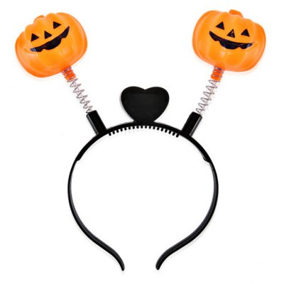Creative Festival Pumpkin LED Hair Band