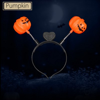 Creative Festival Pumpkin LED Hair BandHalloween Supplies<br>Creative Festival Pumpkin LED Hair Band<br><br>Package Contents: 1 x Creative LED Hair Band<br>Package size (L x W x H): 27.40 x 25.50 x 6.00 cm / 10.79 x 10.04 x 2.36 inches<br>Package weight: 0.054 kg<br>Product size (L x W x H): 21.20 x 18.00 x 5.00 cm / 8.35 x 7.09 x 1.97 inches<br>Product weight: 0.034 kg