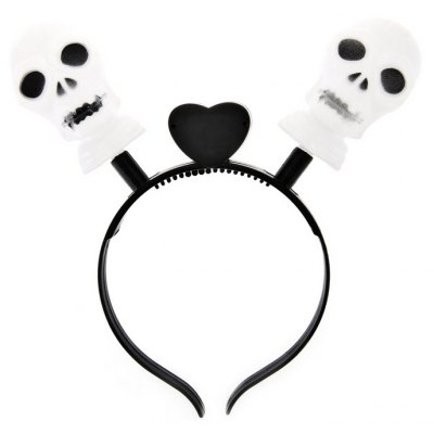 Creative Festival Skull LED Hair Band for Halloween