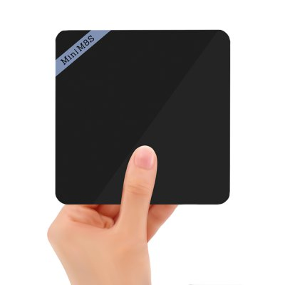 Mini M8S II 4K Smart TV Box Android Amlogic S905X Quad Core Processor