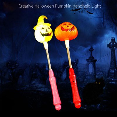 Creative Halloween Pumpkin Handheld LightHalloween Supplies<br>Creative Halloween Pumpkin Handheld Light<br><br>Package Contents: 1 x Halloween Handheld Pumpkin Lamp<br>Package size (L x W x H): 7.00 x 7.00 x 27.00 cm / 2.76 x 2.76 x 10.63 inches<br>Package weight: 0.0500 kg<br>Product weight: 0.0300 kg