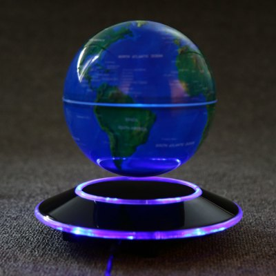 Magnetic Levitation Floating Globe World MapCrafts<br>Magnetic Levitation Floating Globe World Map<br><br>Color: Blue<br>For: Friends, Lovers, Parents<br>Package Contents: 1 x Magnetic Levitation Floating Globe, 1 x Base, 1 x Adapter, 1 x Chinese / English User Manual, 1 x Magnetic Levitation Floating Globe, 1 x Base, 1 x Adapter, 1 x Chinese / English User Manual<br>Package size (L x W x H): 23.50 x 23.50 x 23.80 cm / 9.25 x 9.25 x 9.37 inches<br>Package weight: 1.274 kg<br>Usage: Christmas, Party, Birthday, New Year