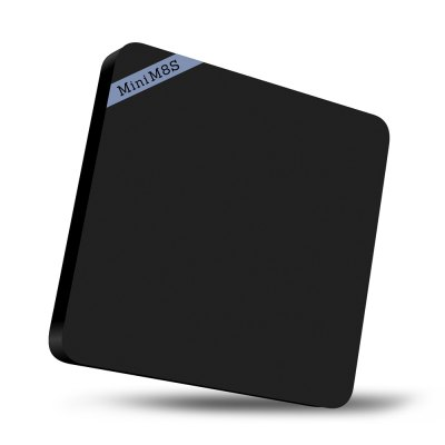 Mini M8S II 4K Smart TV Box Android Amlogic S905X Quad Core ProcessorTV Box<br>Mini M8S II 4K Smart TV Box Android Amlogic S905X Quad Core Processor<br><br>5G WiFi: No<br>Antenna: No<br>Audio format: MPEG, MP3, WMA, RM, OGG, AAC, FLAC<br>Bluetooth: Bluetooth4.0<br>Color: Black<br>Core: 2.0GHz, Quad Core<br>CPU: Amlogic S905X<br>Decoder Format: H.264/AVC, RealVideo8/9/10, H.265<br>External Subtitle Supported: No<br>GPU: Mali-450<br>HDMI Version: 2.0<br>Interface: DC Power Port, HDMI, Micro SD Card Slot, RJ45, SPDIF, USB2.0<br>Language: Multi-language<br>Max. Extended Capacity: TF card up to 32GB (not included)<br>Model: Mini M8S II<br>Other Functions: Others<br>Package Contents: 1 x Mini M8S II TV Box, 1 x IR Remote Control, 1 x HDMI Cable, 1 x Power Adapter, 1 x English Manual<br>Package size (L x W x H): 16.00 x 12.00 x 2.70 cm / 6.3 x 4.72 x 1.06 inches<br>Package weight: 0.4350 kg<br>Photo Format: GIF, JPEG, BMP, JPG<br>Power Adapter Input: 100-240V / 50-60Hz<br>Power Adapter Output: 5V 2A<br>Power Input Vol: 5V<br>Power Supply: Charge Adapter<br>Power Type: External Power Adapter Mode<br>Processor: S905X<br>Product size (L x W x H): 11.00 x 11.00 x 1.70 cm / 4.33 x 4.33 x 0.67 inches<br>Product weight: 0.1520 kg<br>RAM: 2G RAM<br>RAM Type: DDR3<br>ROM: 8G ROM<br>Support 5.1 Surround Sound Output: No<br>System: Android 6.0<br>System Bit: 64Bit<br>Type: TV Box<br>Video format: MPEG2, MVC, WMV, MP4, 1080P, 4K, MPEG-1, MKV, ISO, MPEG-4, H.265, H.264, DAT, AVI, MPEG1, 4K x 2K, AVC<br>WIFI: 802.11b/g/n
