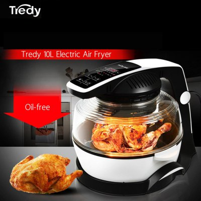 Tredy LD14 - 120AM 10L Electric Air Fryer for Frying Roasting Baking