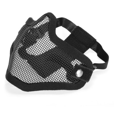 Steel Mesh Half-face Mask