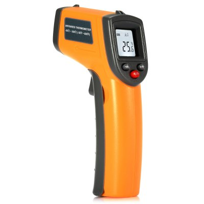 GS320 LCD Display Digital IR Infrared Thermometer