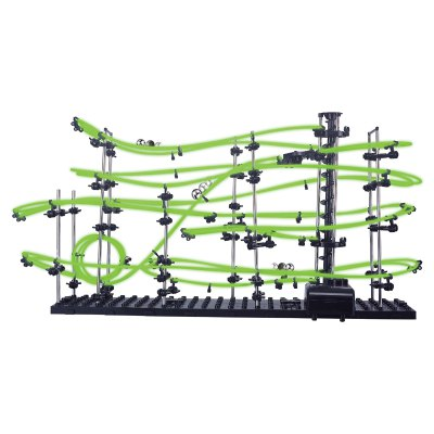 SPACERAIL Level 3 Luminous Marble Roller Coaster DIY ModelOther Educational Toys<br>SPACERAIL Level 3 Luminous Marble Roller Coaster DIY Model<br><br>Appliable Crowd: Beginner, Unisex<br>Materials: Plastic<br>Nature: Ball,Other<br>Package Contents: 3 x Steel Marble, 6 x Base, 13 x Rotary Shaft, 1 x 16m Rail, 40 x Rotary Arm, 80 x Rotary Arm Lever, 45 x Rail Holder, 1 x Gearbox, 12 x Elevator Helical Plate, 3 x Elevator Fixing Ring, 1 x Elevator<br>Package size: 40.00 x 28.50 x 8.50 cm / 15.75 x 11.22 x 3.35 inches<br>Package weight: 1.220 kg<br>Product size: 71.00 x 20.00 x 36.00 cm / 27.95 x 7.87 x 14.17 inches<br>Product weight: 0.900 kg<br>Specification: Europe and America