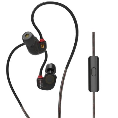 KZ ATE-S 3.5mm Jack HiFi In-ear Earphones with Mic