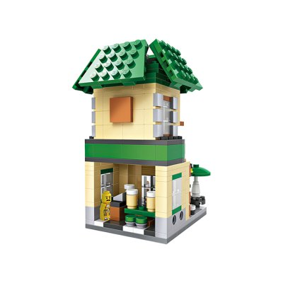 LOZ ABS Mini Street Building Block DIY Model