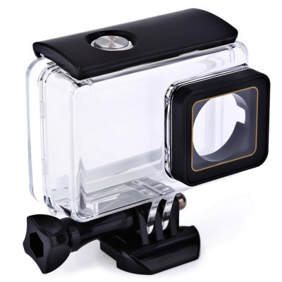 SMACO 30M Waterproof Housing for YI 4K CameraAction Cameras &amp; Sport DV Accessories<br>SMACO 30M Waterproof Housing for YI 4K Camera<br><br>Brand: SMACO<br>Compatible with: YI II<br>Accessory type: Protective Cases/Housing<br>Material: Acrylic<br>For Activity: Dive<br>Product weight: 0.079 kg<br>Package weight: 0.134 kg<br>Product size (L x W x H): 8.00 x 5.00 x 7.50 cm / 3.15 x 1.97 x 2.95 inches<br>Package size (L x W x H): 10.50 x 6.00 x 10.00 cm / 4.13 x 2.36 x 3.94 inches<br>Package Contents: 1 x Waterproof Housing