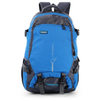 45L Capacity Nylon Mountaineering Backpack Bag