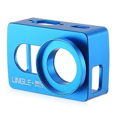 LINGLE L17 Aluminum Alloy Case with 37mm UV LensAction Cameras &amp; Sport DV Accessories<br>LINGLE L17 Aluminum Alloy Case with 37mm UV Lens<br><br>Accessory type: Protective Cases/Housing<br>Brand: LINGLE<br>Compatible with: YI II<br>Material: Alluminum Alloy<br>Package Contents: 1 x Protective Case, 1 x UV Lens, 1 x Lens Cover, 1 x Mount, 1 x Screw<br>Package size (L x W x H): 8.60 x 6.10 x 4.40 cm / 3.39 x 2.4 x 1.73 inches<br>Package weight: 0.103 kg<br>Product size (L x W x H): 7.20 x 4.70 x 3.40 cm / 2.83 x 1.85 x 1.34 inches<br>Product weight: 0.066 kg