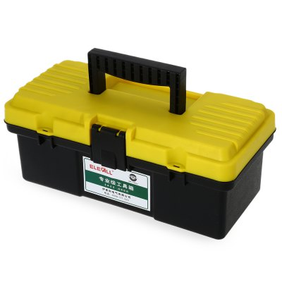 ELECALL 12 inch Household Portable ABS Toolbox Storage Tool