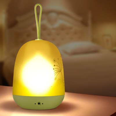 BRELONG Rechargeable RGBW LED Night Light with Timer Function