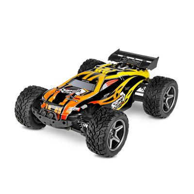 WLtoys 12404 1:12 4WD RC Racing CarRC Cars<br>WLtoys 12404 1:12 4WD RC Racing Car<br><br>Brand: WLtoys<br>Car Power: Built-in rechargeable battery<br>Channel: 2-Channels<br>Detailed Control Distance: 100m<br>Drive Type: 4 WD<br>Features: Radio Control<br>Functions: Forward/backward, Speed up, Turn left/right<br>Material: Rubber, PVC, PA, Electronic Components<br>Motor Type: Brushed Motor<br>Package Contents: 1 x RC Car, 1 x Transmitter, 1 x English Manual, 1 x Four-way Wrench, 1 x Pack of Accessories, 1 x Charger<br>Package size (L x W x H): 50.00 x 29.00 x 20.00 cm / 19.69 x 11.42 x 7.87 inches<br>Package weight: 2.827 kg<br>Product size (L x W x H): 38.00 x 27.50 x 14.00 cm / 14.96 x 10.83 x 5.51 inches<br>Product weight: 1.695 kg<br>Proportion: 1:12<br>Racing Time: 10mins<br>Remote Control: 2.4GHz Wireless Remote Control<br>Transmitter Power: 4 x 1.5V AA (not included)<br>Type: Racing Truck