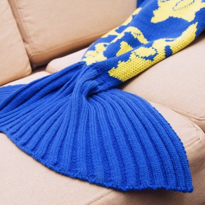 Cartoon Warm Knitted Mermaid Blanket for KidsBedding<br>Cartoon Warm Knitted Mermaid Blanket for Kids<br><br>Color: Blue,Green<br>For: Adults, Kids, Teenagers<br>Material: Others<br>Occasion: Bedroom<br>Package Contents: 1 x Mermaid Blanket<br>Package size (L x W x H): 38.00 x 26.00 x 9.00 cm / 14.96 x 10.24 x 3.54 inches<br>Package weight: 0.312 kg<br>Product size (L x W x H): 92.00 x 37.00 x 0.90 cm / 36.22 x 14.57 x 0.35 inches<br>Product weight: 0.282 kg<br>Type: Comfortable