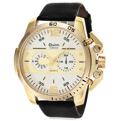 Oulm 3745 Fashion Men Quartz Watch