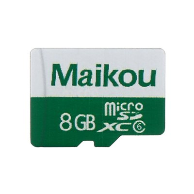 Maikou 2 in 1 8GB Micro SD Card + Adapter