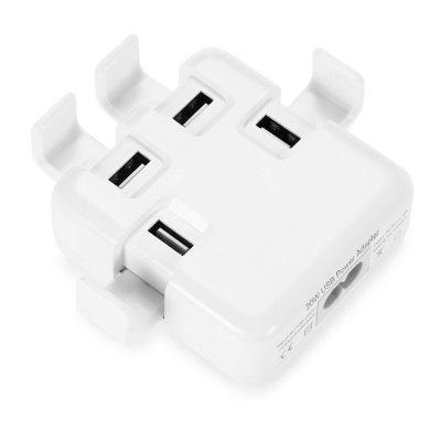 4-port USB Charger Power Adapter