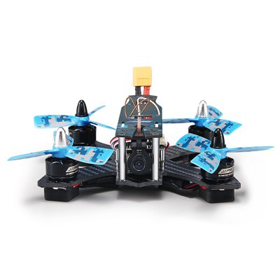 JJRC JJPRO - P130 Battler 130mm RC Racing Quadcopter - ARFBrush FPV Racer<br>JJRC JJPRO - P130 Battler 130mm RC Racing Quadcopter - ARF<br><br>Brand: JJRC<br>Type: Body Frame,Camera Set,ESC,Flight Controller,LED Light,Motor,Power Distribution Board,Propeller,Propeller Clip<br>Wheelbase: 130mm<br>KV: 2300KV<br>Max. Continuous Current (A): 13A<br>No. of Cells: 2 - 3S LiPo<br>Channel: No Transmitter<br>Transmitter Power: No transmitter included<br>Video Resolution: 800TVL ( horizontal resoultion )<br>Video Standards: NTSC,PAL<br>Battery (mAh): 11.1V 850mAh<br>Flying Time: about 5mins<br>Charging Time (h): less than 120 minutes<br>Product weight: 0.600 kg<br>Package weight: 0.650 kg<br>Product size (L x W x H): 15.00 x 10.00 x 6.50 cm / 5.91 x 3.94 x 2.56 inches<br>Package size (L x W x H): 25.00 x 20.00 x 10.50 cm / 9.84 x 7.87 x 4.13 inches<br>Package Contents: 1 x Airframe, 4 x Motor, 4 x ESC, 1 x Flight Controller, 1 x PDB, 4 x LED Light, 1 x FPV Camera Set, 1 x Battery Set, 8 x Three-blade Propeller, 1 x Propeller Puller, 1 x Charger