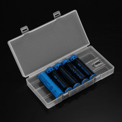 7pcs Soshine Battery Holder SetLED Accessories<br>7pcs Soshine Battery Holder Set<br><br>Brand: Soshine<br>Accessory type: Battery Holder<br>Color: Transparent<br>Material: PP<br>Product weight: 0.192 kg<br>Package weight: 0.251 kg<br>Package size (L x W x H): 15.70 x 8.00 x 7.70 cm / 6.18 x 3.15 x 3.03 inches<br>Package Contents: 7 x Soshine Battery Holder