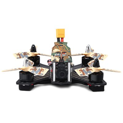 JJRC JJPRO - P130 Battler 130mm RC Racing Quadcopter - ARFBrushless FPV Racer<br>JJRC JJPRO - P130 Battler 130mm RC Racing Quadcopter - ARF<br><br>Battery (mAh): 11.1V 850mAh<br>Brand: JJRC<br>Channel: No Transmitter<br>Charging Time.: less than 120 minutes<br>Flying Time: about 5mins<br>KV: 2300KV<br>Max. Continuous Current (A): 13A<br>No. of Cells: 2 - 3S LiPo<br>Package Contents: 1 x Airframe, 4 x Motor, 4 x ESC, 1 x Flight Controller, 1 x PDB, 4 x LED Light, 1 x FPV Camera Set, 1 x Battery Set, 8 x Three-blade Propeller, 1 x Propeller Puller, 1 x Charger<br>Package size (L x W x H): 25.00 x 20.00 x 10.50 cm / 9.84 x 7.87 x 4.13 inches<br>Package weight: 0.650 kg<br>Product size (L x W x H): 15.00 x 10.00 x 6.50 cm / 5.91 x 3.94 x 2.56 inches<br>Product weight: 0.600 kg<br>Transmitter Power: No transmitter included<br>Type: Body Frame, Camera Set, ESC, Propeller, Flight Controller, LED Light, Motor, Power Distribution Board, Propeller Clip<br>Video Resolution: 800TVL ( horizontal resoultion )<br>Video Standards: NTSC,PAL