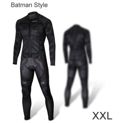 Men Breathable Long Sleeved Cycling Dress