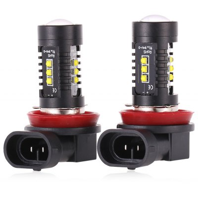 H11 H8 Cree XB - D 12V 24V 10W 12 LED Car Lamp 5500K 1200LM 2PCS