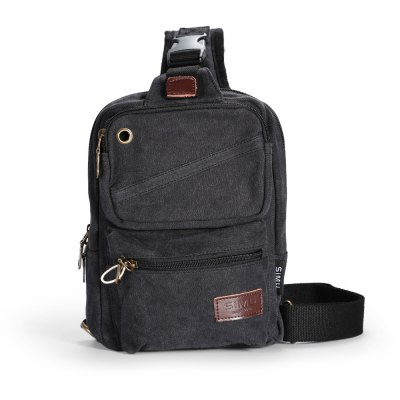 SIMU 1606 4.5L Sling BagSling Bag<br>SIMU 1606 4.5L Sling Bag<br><br>Bag Capacity: 4.5L<br>Brand: SIMU<br>Capacity: 1 - 10L<br>For: Casual, Exercise and Fitness, Hiking, Travel<br>Material: Polyester, Canvas<br>Package Contents: 1 x SIMU 1606 Sling Bag<br>Package size (L x W x H): 30.00 x 23.00 x 3.00 cm / 11.81 x 9.06 x 1.18 inches<br>Package weight: 0.513 kg<br>Product size (L x W x H): 20.00 x 8.00 x 27.00 cm / 7.87 x 3.15 x 10.63 inches<br>Product weight: 0.463 kg<br>Type: Sling Bag