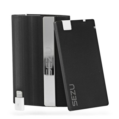 SEZU UW - E06 Double Open End 1500mAh Mobile Power Bank
