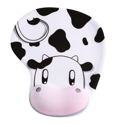 Cow Style Mouse Pad Slip-proof Breathable Mousepad