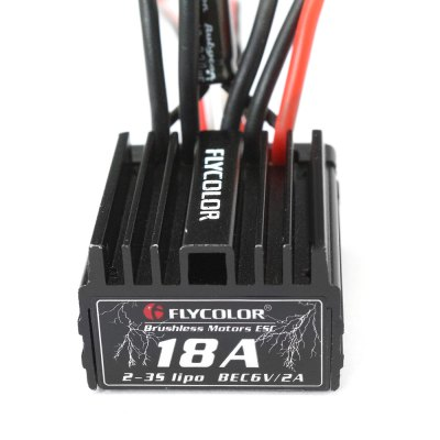 Flycolor 18A 2 - 3S Brushless ESC