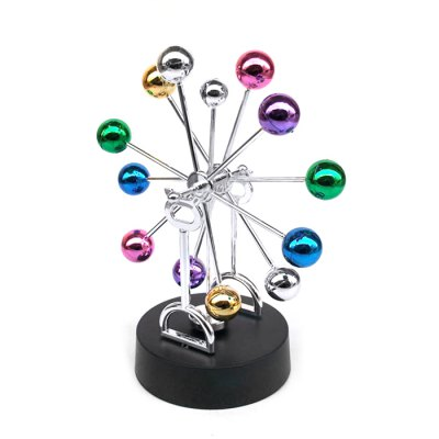 Kinetic Motion Magnetic Ferris Wheel Perpetual MachineNovelty Toys<br>Kinetic Motion Magnetic Ferris Wheel Perpetual Machine<br><br>Age: Above 6 Years<br>Material: Plastic, Electronic Components, Magnet, Metal<br>Package Contents: 1 x Ferris Wheel Perpetual Machine<br>Package size (L x W x H): 25.00 x 15.00 x 15.00 cm / 9.84 x 5.91 x 5.91 inches<br>Package weight: 0.250 kg<br>Product weight: 0.180 kg<br>Type: Ornament