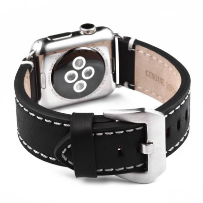 Crazy Horse Leather Watchband for Apple Watch 38mm
