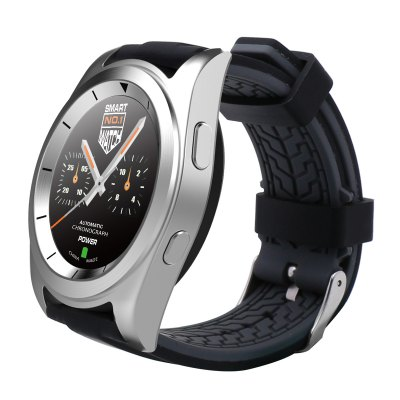 NO.1 G6 Bluetooth 4.0 Heart Rate Monitor Smart WatchSmart Watches<br>NO.1 G6 Bluetooth 4.0 Heart Rate Monitor Smart Watch<br><br>Brand: NO.1<br>Built-in chip type: MTK2502<br>Bluetooth version: Bluetooth 4.0<br>Bluetooth calling: Dialing,Phone call reminder<br>Messaging: Message reminder<br>Health tracker: Heart rate monitor,Pedometer,Sedentary reminder,Sleep monitor<br>Remote control function: Remote Camera,Remote music<br>Notification type: Facebook,Twitter<br>Alert type: Vibration<br>Other function: Alarm<br>Screen resolution: 240 x 240<br>Screen size: 1.2 inch<br>Operating mode: Press button,Touch Screen<br>Type of battery: Polymer Lithium Battery<br>Battery Capacty: 380mAh<br>People: Male table<br>Shape of the dial: Round<br>Case material: Stainless Steel<br>Band material: TPU<br>Compatible OS: Android,IOS<br>Language: English,French,German,Italian,Portuguese,Portuguese (Brazil),Russian,Spanish,Turkish<br>Available color: Black,Silver<br>Product size (L x W x H): 5.55 x 4.50 x 1.00 cm / 2.19 x 1.77 x 0.39 inches<br>Package size (L x W x H): 10.00 x 8.00 x 8.00 cm / 3.94 x 3.15 x 3.15 inches<br>Product weight: 0.055 kg<br>Package weight: 0.156 kg<br>Package Contents: 1 x NO.1 G6 Sports Smart Watch, 1 x Charging Cable, 1 x Chinese and English User Manual