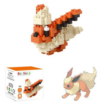 143pcs LOZ Cartoon Figure Building Block