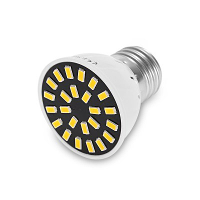 6PCS YWXLight E27 LED Spot LightSpot Bulbs<br>6PCS YWXLight E27 LED Spot Light<br><br>Brand: YWXLight<br>Holder: E27<br>Type: Spot Bulbs<br>Output Power: 5W<br>Emitter Types: SMD 5733<br>Total Emitters: 24<br>Luminous Flux: 350 - 500Lm<br>CCT/Wavelength: 2800-3200K,6000-6500K<br>Voltage (V): AC 220-240<br>Features: Energy Saving,Long Life Expectancy<br>Function: Commercial Lighting,Home Lighting,Studio and Exhibition Lighting<br>Available Light Color: Warm White,White<br>Product weight: 0.019 kg<br>Package weight: 0.186 kg<br>Product size (L x W x H): 4.80 x 4.80 x 5.30 cm / 1.89 x 1.89 x 2.09 inches<br>Package size (L x W x H): 15.20 x 6.50 x 10.00 cm / 5.98 x 2.56 x 3.94 inches<br>Package Contents: 6 x YWXLight LED Spot Light