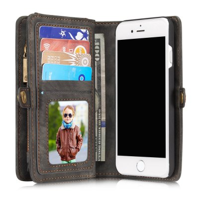 CaseMe Wallet Phone Cover Case for iPhone 6 Plus / 6S PlusiPhone Cases/Covers<br>CaseMe Wallet Phone Cover Case for iPhone 6 Plus / 6S Plus<br><br>Brand: CaseMe<br>Color: Black,Blue,Brown,Red<br>Compatible for Apple: iPhone 6 Plus, iPhone 6S Plus<br>Features: Anti-knock, Back Cover, FullBody Cases, With Credit Card Holder<br>Material: PU Leather, PC<br>Package Contents: 1 x Wallet Phone Case<br>Package size (L x W x H): 20.50 x 15.00 x 4.40 cm / 8.07 x 5.91 x 1.73 inches<br>Package weight: 0.222 kg<br>Product size (L x W x H): 16.30 x 8.50 x 3.40 cm / 6.42 x 3.35 x 1.34 inches<br>Product weight: 0.183 kg<br>Style: Leather