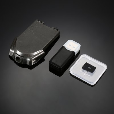 KAIDENG Camera ModuleRC Quadcopter Parts<br>KAIDENG Camera Module<br><br>Brand: KAIDENG<br>Compatible with: PANTONMA K80 Quadcopter<br>Package Contents: 1 x Camera Module, 1 x 4GB SD Card, 1 x Card Reader<br>Package size (L x W x H): 14.10 x 2.20 x 18.40 cm / 5.55 x 0.87 x 7.24 inches<br>Package weight: 0.078 kg<br>Product size (L x W x H): 4.50 x 7.00 x 1.50 cm / 1.77 x 2.76 x 0.59 inches<br>Product weight: 0.011 kg<br>Type: Camera Set