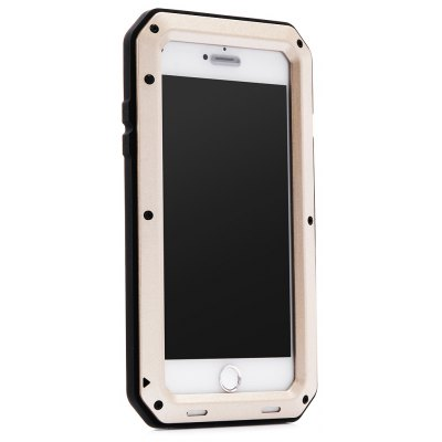 Stainless Steel Silicone Bumper Phone Cover Case for iPhone 7