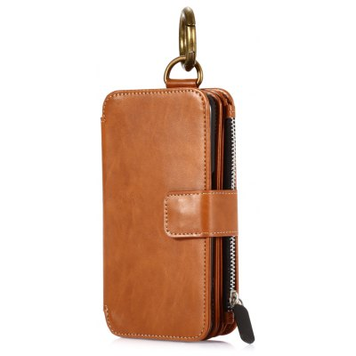Crazy Horse Leather Wallet Phone Case for Samsung Galaxy S7